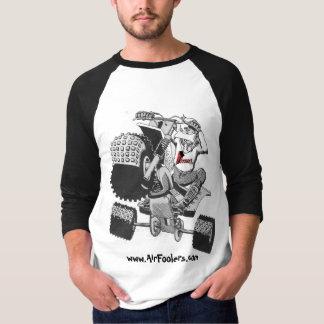 Camiseta desenhos animados de www.AirFoolers.com do