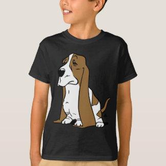 Camiseta Desenhos animados do cão de Basset