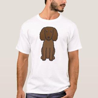 Camiseta Desenhos animados do cão do Spaniel de água