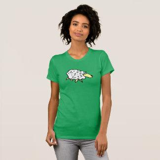 Camiseta Desenhos animados do design dos carneiros