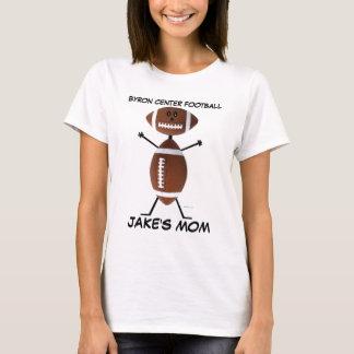 Camiseta Desenhos animados do futebol do segundo grau