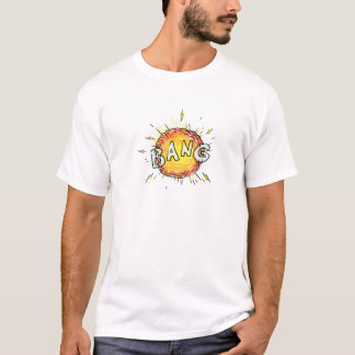 Camiseta Desenhos animados do golpe da explosão