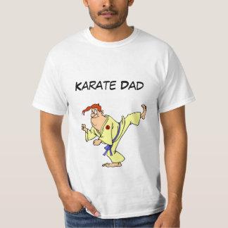Camiseta Desenhos animados do karaté do t-shirt do valor