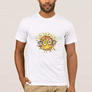 Camiseta Desenhos animados do Woof da explosão