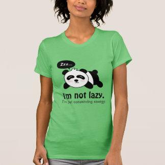 Camiseta Desenhos animados engraçados da panda bonito do