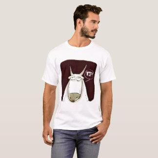 Camiseta desenhos animados engraçados do gado do wtf