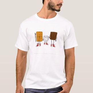 Camiseta Desenhos animados engraçados dos caráteres de