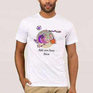 Camiseta Desenhos animados engraçados personalizados do