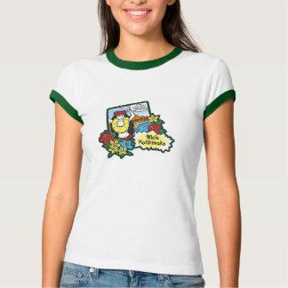 Camiseta Desenhos animados havaianos do Xmas de Mele