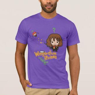 Camiseta Desenhos animados Hermione e período de Ron