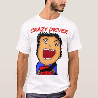 Camiseta Desenhos animados loucos do motorista