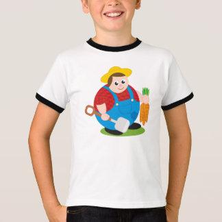 Camiseta Desenhos animados modernos bonitos de um
