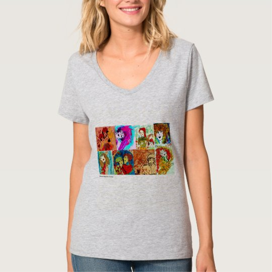 Camiseta Desenhos da Rose
