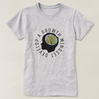 Camiseta Desenvolva uma luz da reforma da educação do