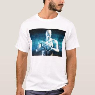 Camiseta Desenvolvimento do design de engenharia