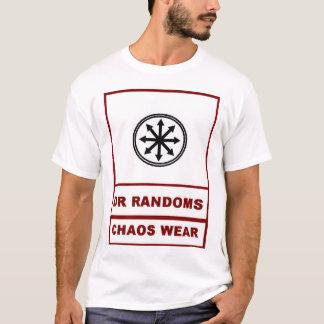 Camiseta Desgaste do caos do Doc Randoms