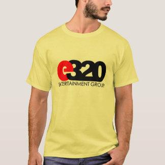 Camiseta Desgaste do logotipo de E320ENT