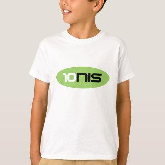 Camiseta Desgaste do tênis dos miúdos