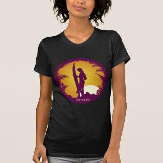 Camiseta Desgaste retro do surf