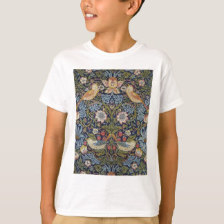 Camiseta Design 1883 do ladrão da morango de William Morris
