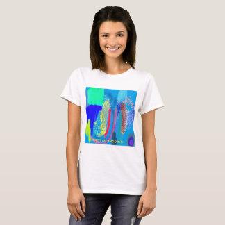 Camiseta Design abstrato 2. de, arte de Mickeys e design