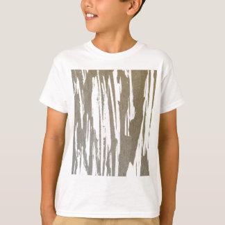 Camiseta Design abstrato do respingo do Taupe