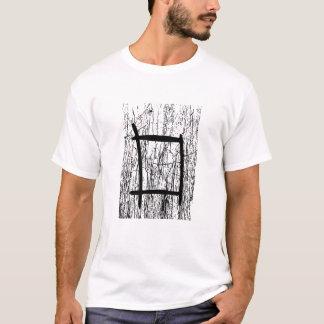 Camiseta Design abstrato Textured
