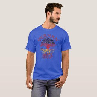 Camiseta Design alemão das raizes