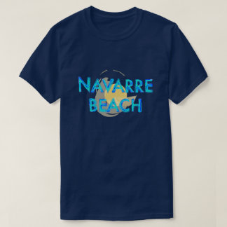 Camiseta Design artística de Florida da praia de Navarra