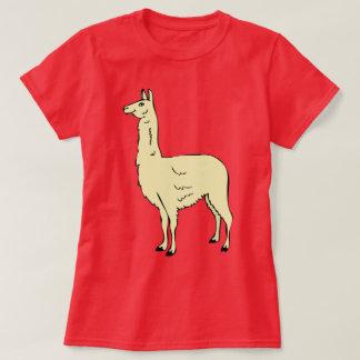 Camiseta Design bonito #1 do lama