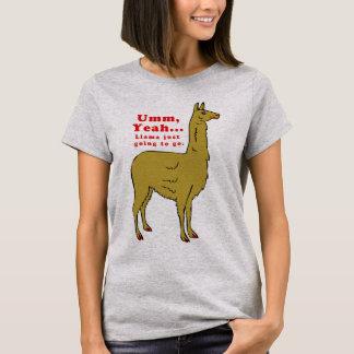 Camiseta Design bonito #5 do lama