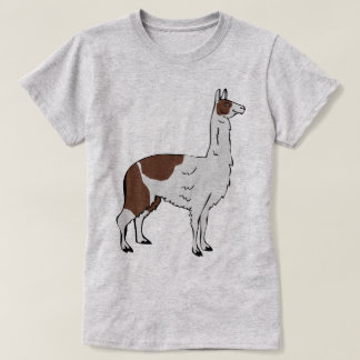 Camiseta Design bonito #9 do lama