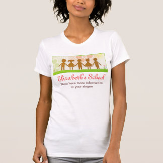 Camiseta design bonito do t-shirt das crianças felizes