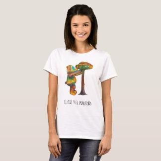 Camiseta Design branco madrid do urso de ursinho do t-shirt
