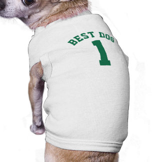 Camiseta Design branco & verde escuro do jérsei dos