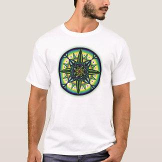 Camiseta Design carregado super da mandala para homens e