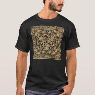 Camiseta Design celta do quadrado dos pássaros