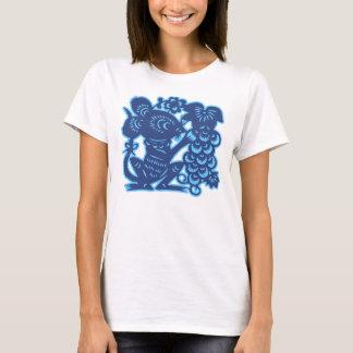 Camiseta Design chinês do t-shirt do zodíaco - rato/rato