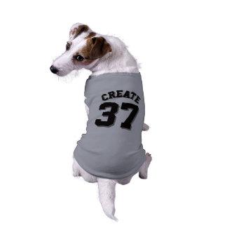 Camiseta Design cinzento & preto do jérsei dos esportes do