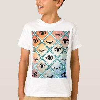 Camiseta Design colorido original dos olhos