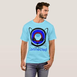 Camiseta design Conectar-engraçado/roupa do t-shirt