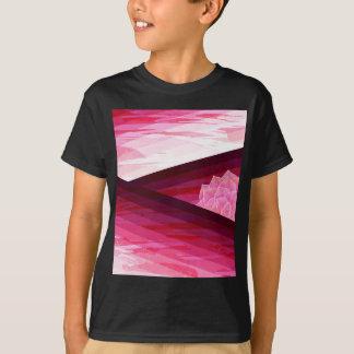 Camiseta Design contemporâneo sereno da flor