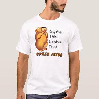 Camiseta Design cristão Praying do Gopher