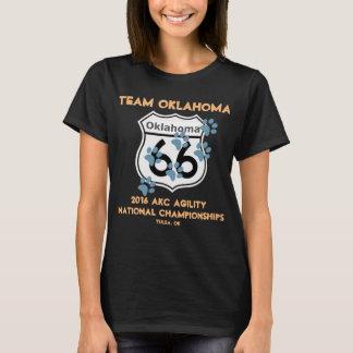 Camiseta Design da agilidade de Oklahoma da equipe para os
