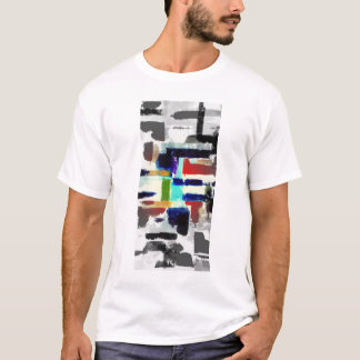 Camiseta Design da arte abstracta do T do verão do t-shirt
