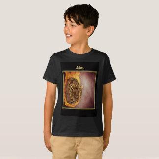 Camiseta Design da astrologia do zodíaco do Aries