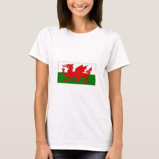 Camiseta Design da bandeira de Galês