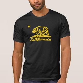 Camiseta Design da bandeira do urso de Califórnia