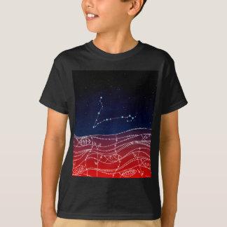 Camiseta Design da constelação dos peixes