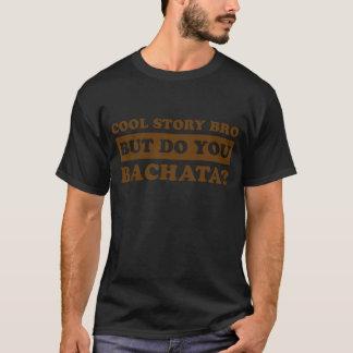 Camiseta design da dança do bachata